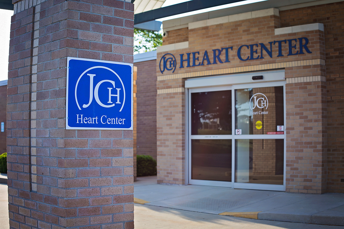 exterior of JCH heart center